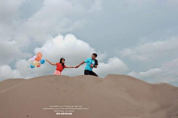 prewedding parangkusumo