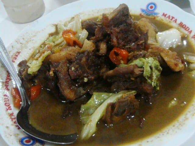 Warung yang Menjual Masakan Tongseng Terenak di Jogja