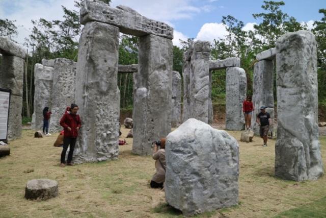 Stonehenge Cangkringan, Objek Wisata Baru di Kaki Gunung Merapi