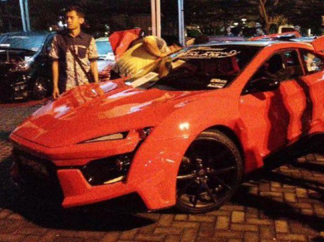 Replika Mobil Seharga Rp 34 Miliar Pada Film Furios 7 Ada di Jogja