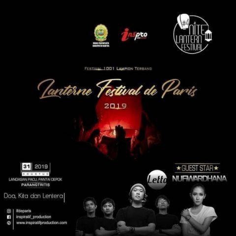 Ribuan Lampion Meriahkan Lanterne Festival de Paris 2019
