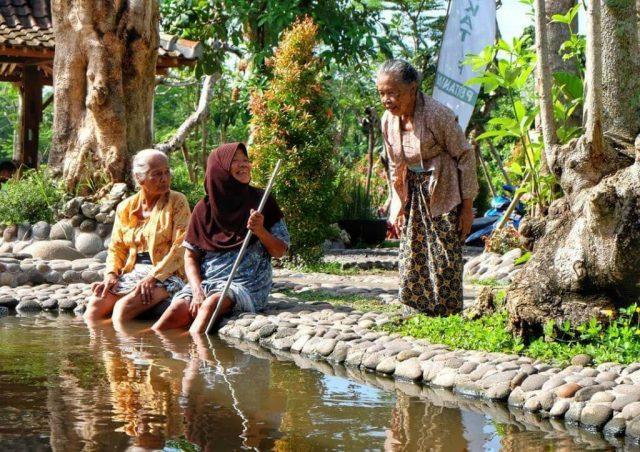 Kampung Flory Sleman Sabet Juara 3 Ekowisata Terpopuler Anugerah Pariwisata Indonesia 2019