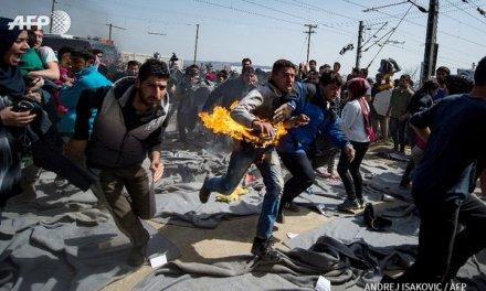 Сиријци се самозапалија на Едумени