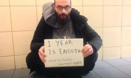 Една година сириски бегалец живее на аеродромот во Истанбул
