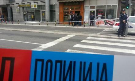 Маж се разнесе со бомба во центарот на Белград, во слаткарница на бивш министер