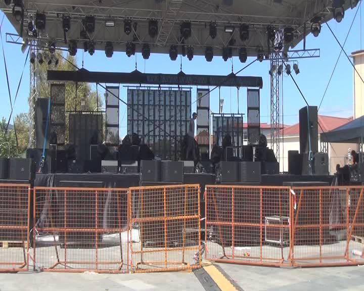 Струмица е подготвена за трите музички вечери на Опен фестивалот