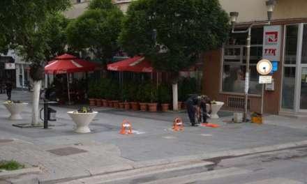 Поставена е антипаркинг опрема на сите влезови на градскиот плоштад за ограничена достава на стока
