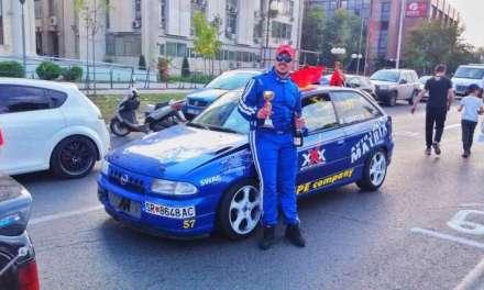 Фото – Мики Тодоров трет на кружните патеки ,,Скопје 2018'' и ги освои првите европски бодови оти беа дел од ЦЕЗ