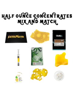 HALF OZ CONCENTRATES MIX AND MATCH