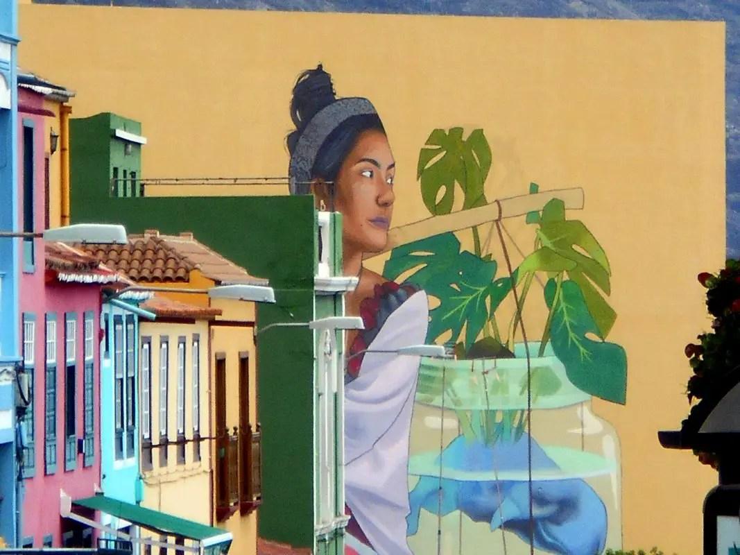 Wandbild - Fassadengemälde