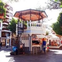 Pavillion auf der Plaza Alameda