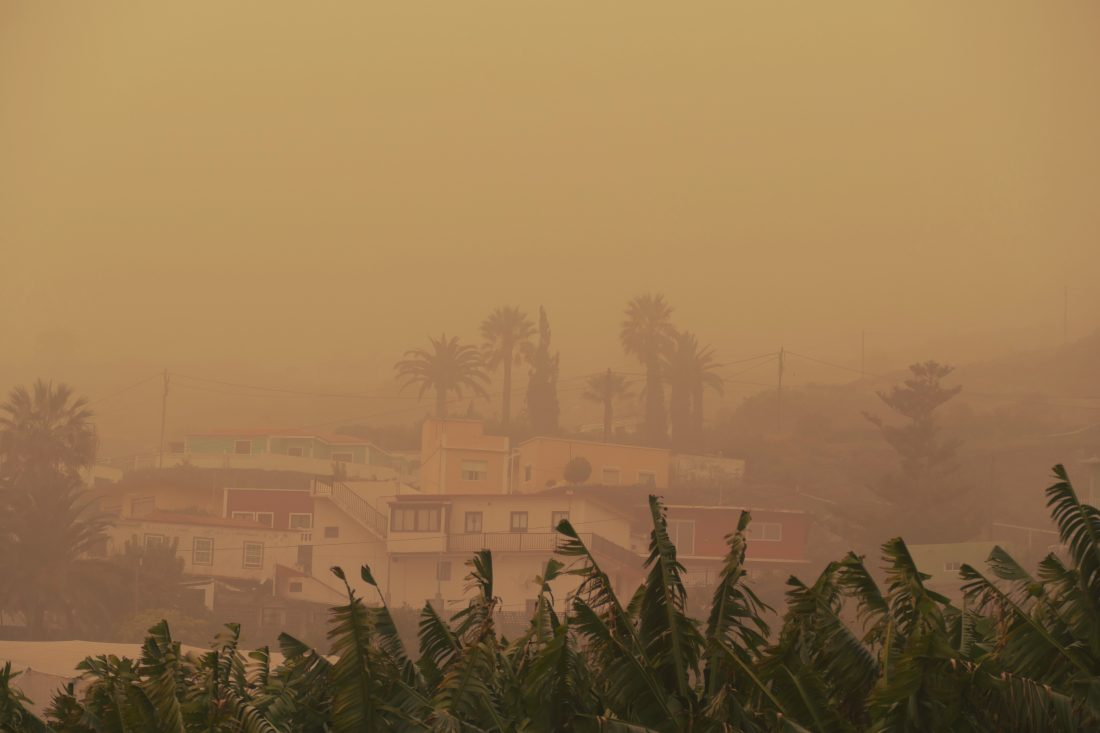 Calima - Sandsturm