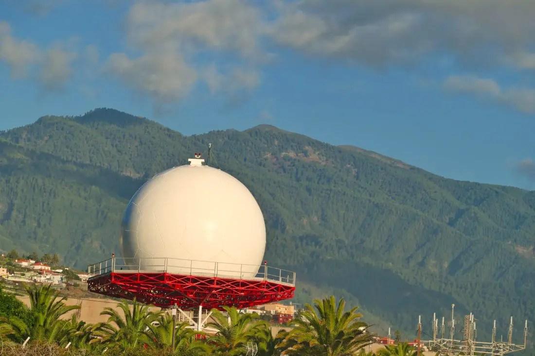 Radarkuppel - Radom