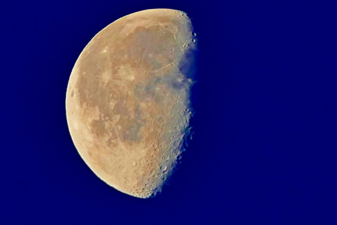 Halbmond - Mond