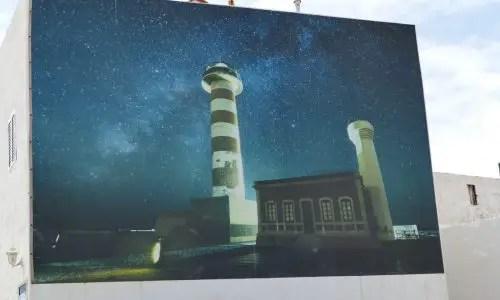 Leuchtturm als Kunstwerk