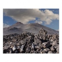 Lanzarote, Timanfaya, sammunut tulivuori