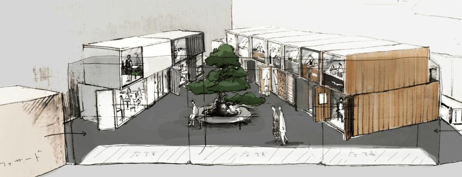 『 とおりゃんせ KANAZAWA FOOD LABO 』片町に「屋台村」が年内開業!新たな美食スポットの誕生です!