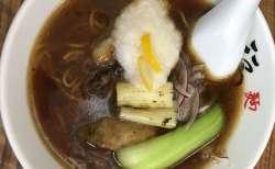 今年もこの季節がやってきた!! 「かき醤油ラーメン」@麺や 福座