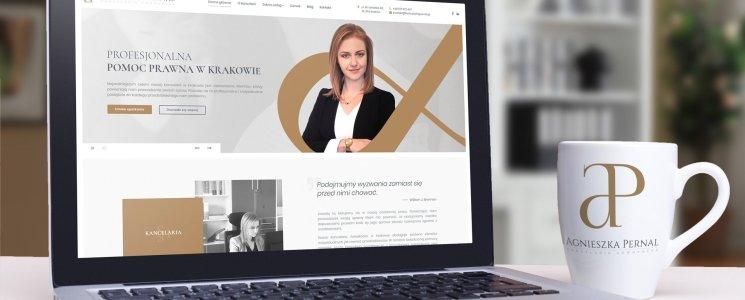 Strona internetowa Kancelaria Adwokacka Agnieszka Pernal Kraków
