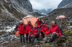 last day of the team at Operative Base Camp