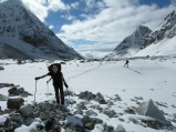 the end of Tonghsiong Glacier
