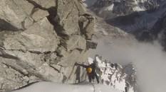 Verso la vetta del Rinpoche Temple Peak