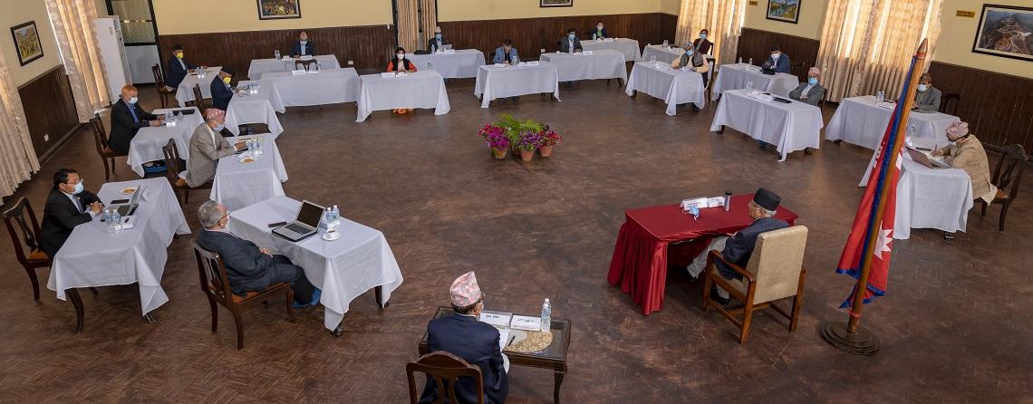 फागुन २३ गते प्रतिनिधिसभा बैठक बोलाउन सिफारिस गर्ने निर्णय