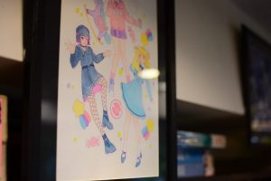 みこみきおプチイラスト展 ArtSpaceSawa(アートスペースサワ)
