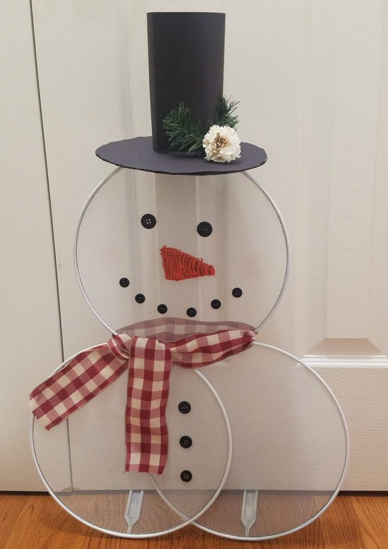 Read more about the article How To Make A Splatter Screen Snowman