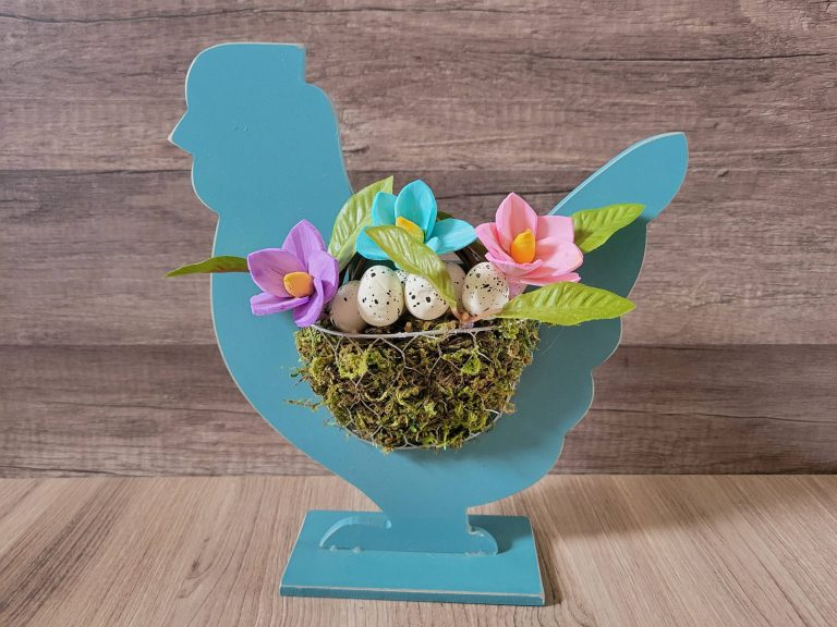 Read more about the article Spring Chicken With Flowers