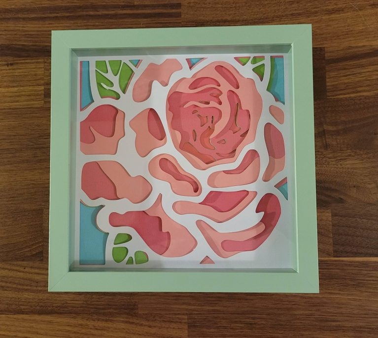 Read more about the article How To Make A Beautiful Layered Rose With Cardstock