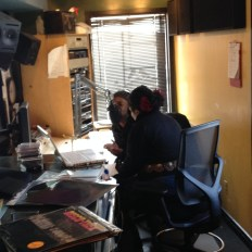 Kandia and Duane Harriott at WMFU| photo by Camara Dia Holloway
