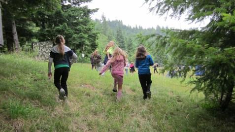 "<img=""kids hiking at camp"">"