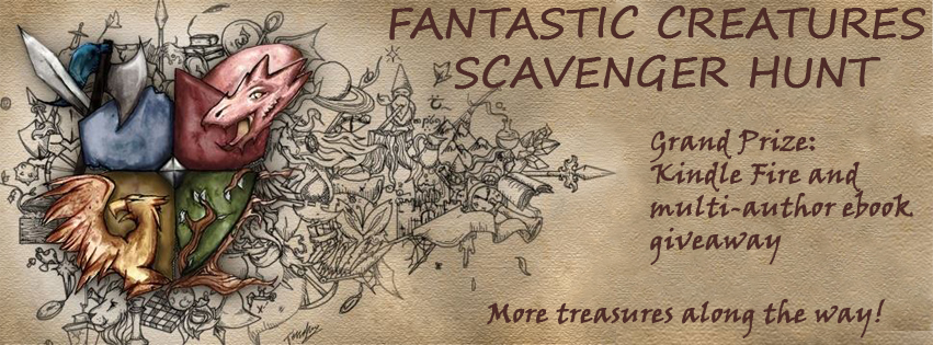 Fantastic Creatures Anthology Release and Scavenger Hunt