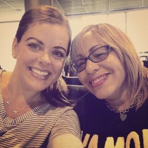 Maritza Torres - my co-traveler!