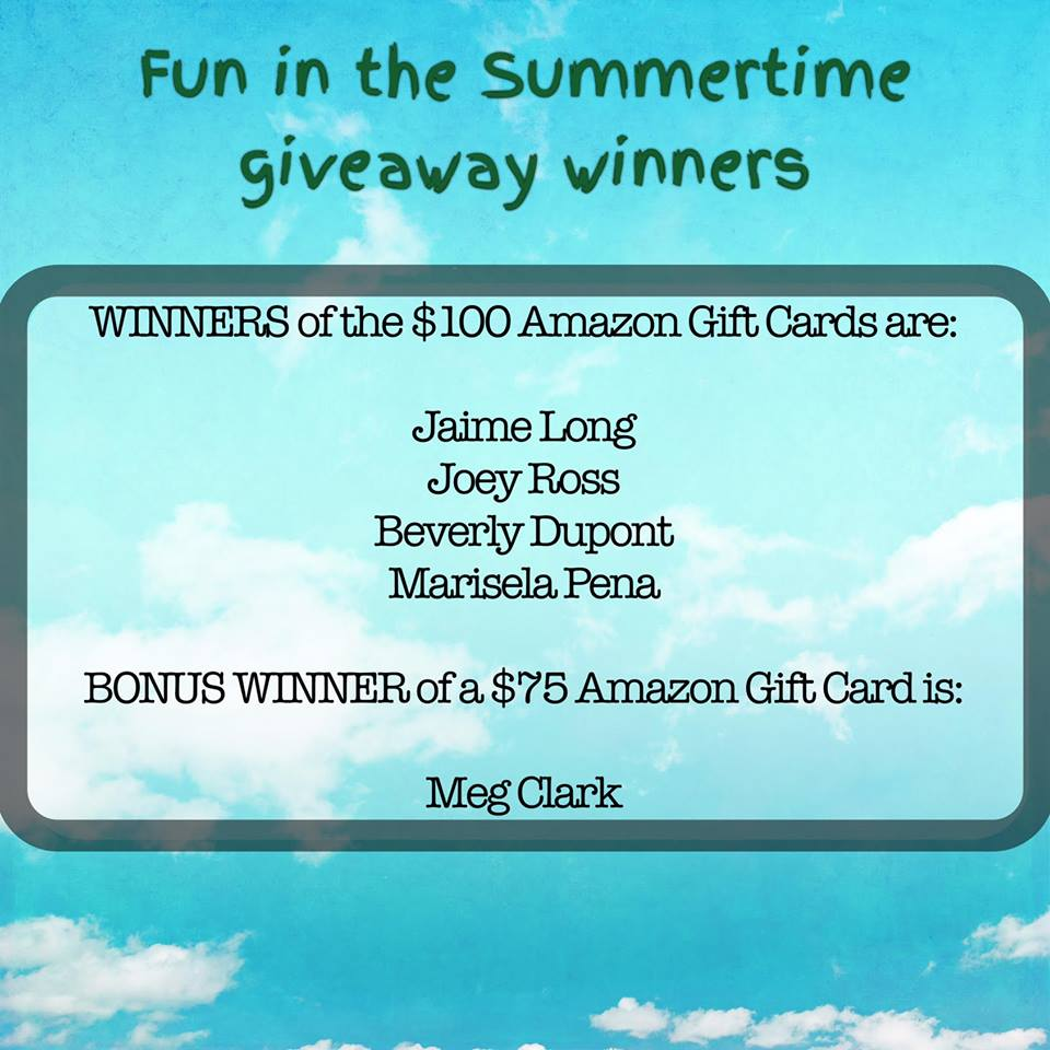 summertime giveaway