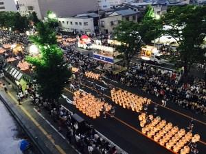 japanese festival kanto  akita city kanto