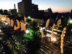 akita city  kanto festival