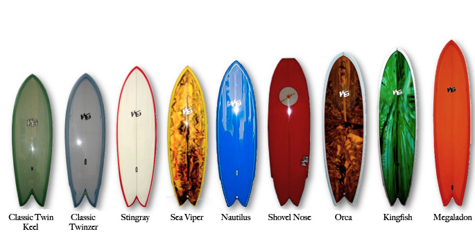 Fish Series Kane Garden Surfboards