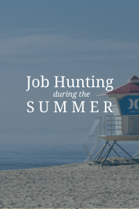 Kane Partners - Summer Job Hunting