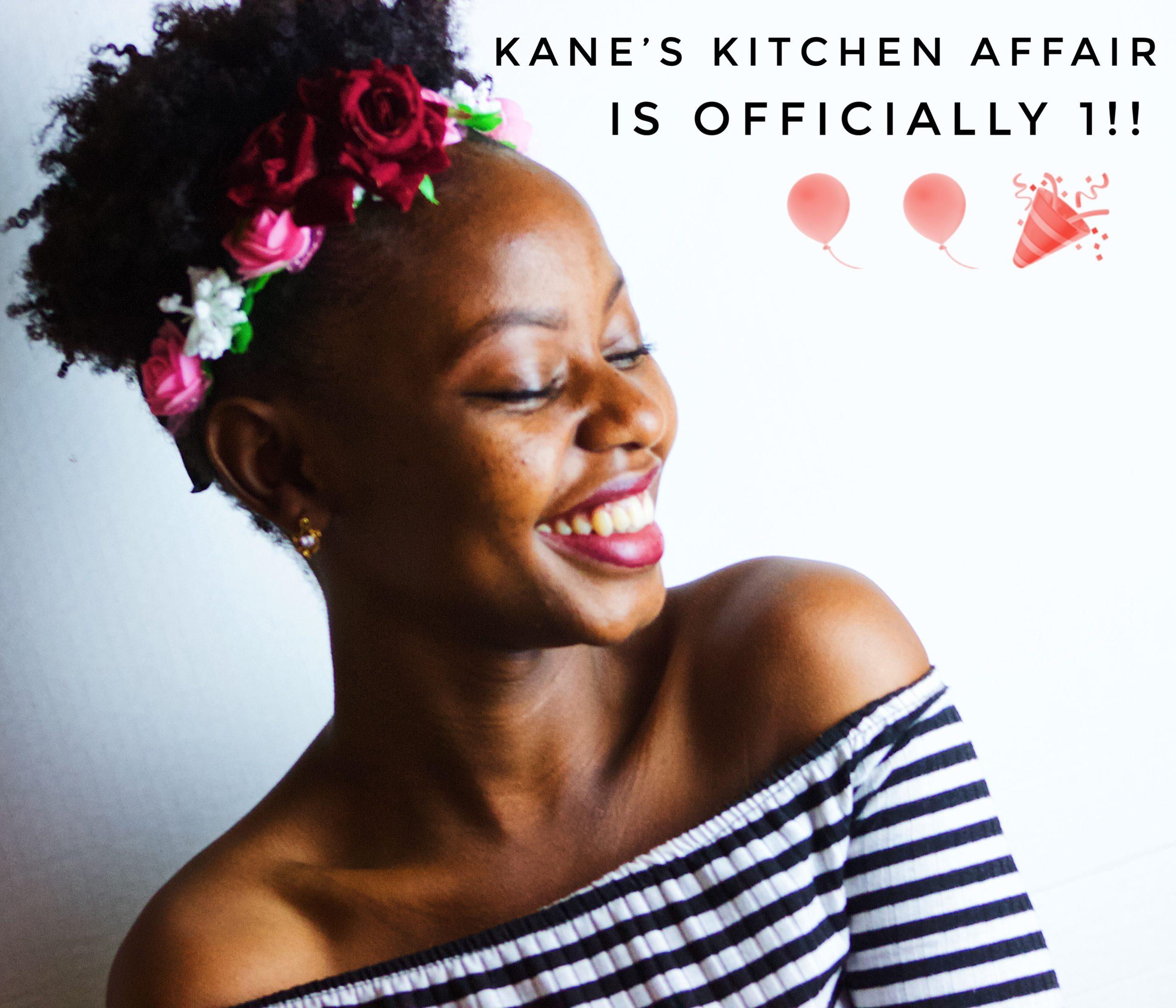 Kane S Kitchen Affair Is 1 Year Old Today Kane S Kitchen