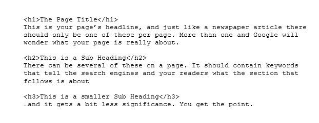 Header code snippet
