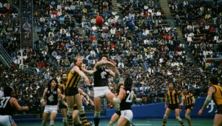 A scene from Aussie Bowl '86