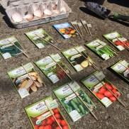 Gardening in March.