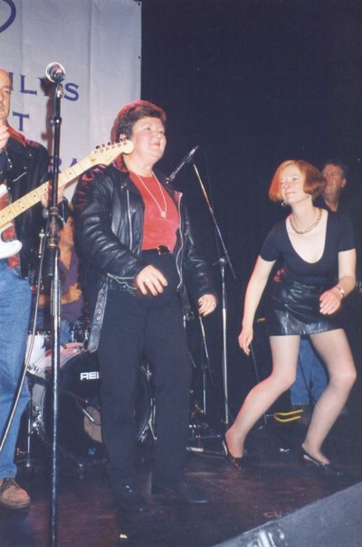 Julia Gillard dancing 1998 - Joan Kirner's 60th Birthday - Picture found on Twitter