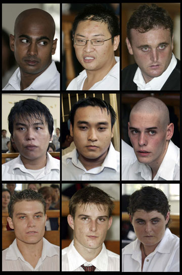 The Bali Nine drug couriers