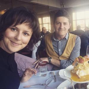 Carla De Campo and Liam O'Brien