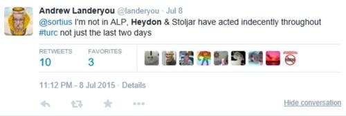 Landeryou - Dyson 8 July 2015 - 2