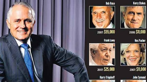 Malcolm Turnbull - Slush fund