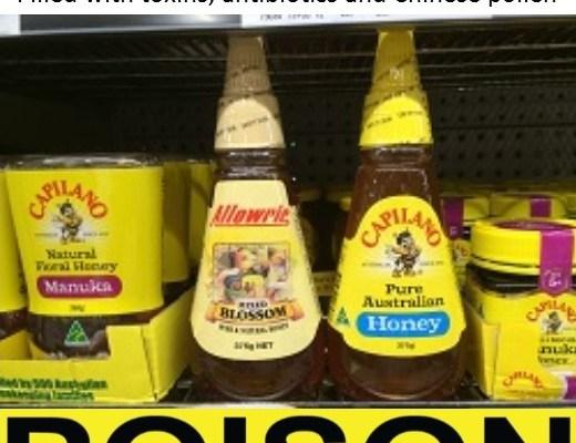 Australia's Capilano Honey admit selling toxic and poisonous